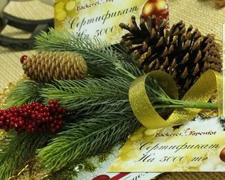 Новогодний подарочный сертификат от кондитерской Backerei Papenfot!