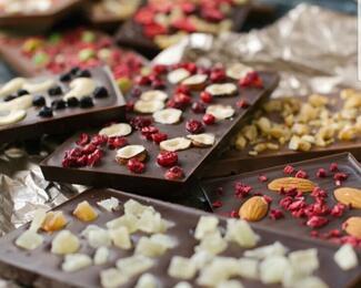Шоколад ручной работы от кондитерской Backerei
