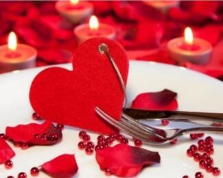 Романтический ужин 14 февраля в Persona Grata