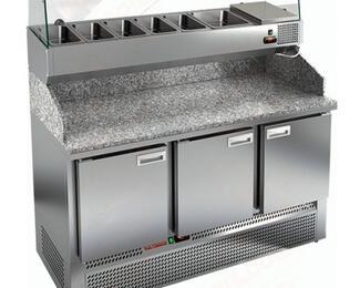 Холодильные столы увеличенного объёма HICOLD от «Клен маркет»
