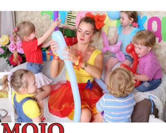 Детский праздник в Mojo