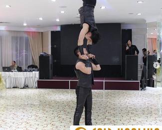 Акробатические номера на ваш праздник от Gold Казына