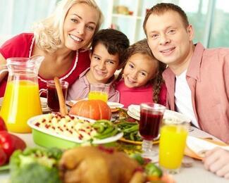 Семейные обеды в ресторане La Mare!