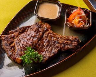 Ресторан Vmeste приглашает отведать сочный стейк «Рибай»!