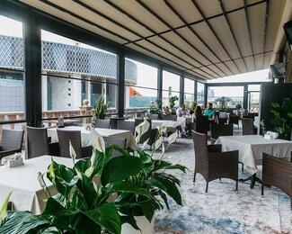 Открытие летней террасы ресторана «Балкон»!