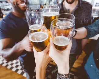 Каждая третья кружка пива в подарок от «Хомяк»