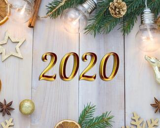 Корпоративный Новый год в Farabi Wedding Hall