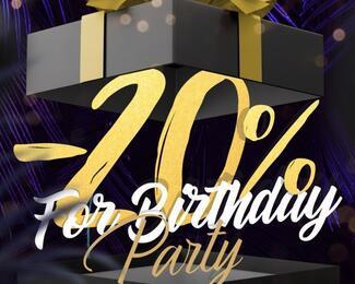 THE MONKEY дарит именинникам скидку 20% на день рождения!