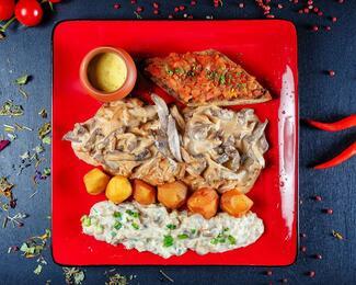 Форт Верный: доставка еды со скидкой 30%