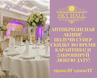 Антикризисная акция в Sky Hall