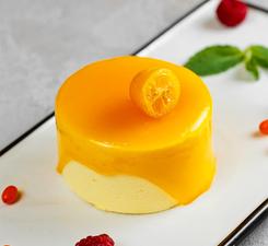 Йогуртовое пирожное манго