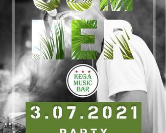 SUMMER PARTY в KEGA MUSIC BAR!